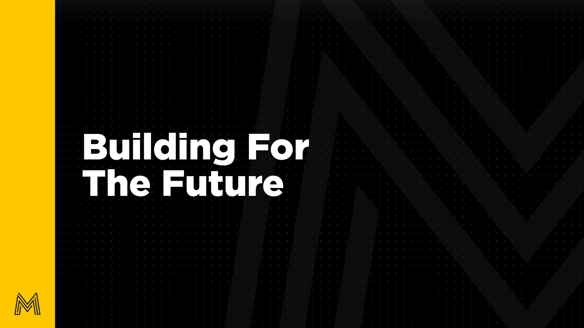 Movement Message Thumbnail, Building for the Future